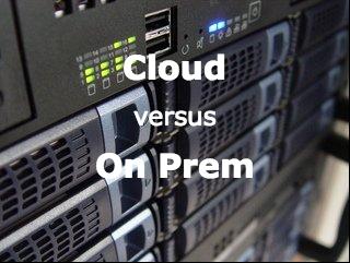 Data warehouse in the Cloud versus On-premise | Paul Kukk